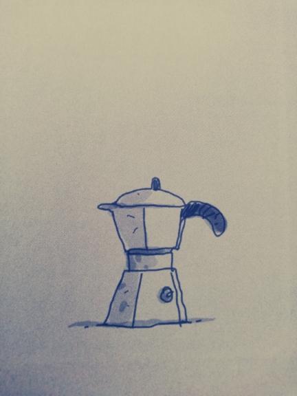 La caffettiera in Pigiama Computer Biscotti